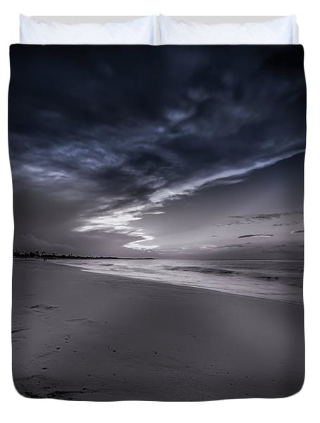 Dominicana Beach Duvet Cover