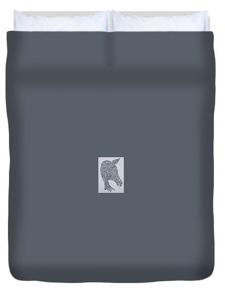Doodle Horse - $125 Duvet Cover