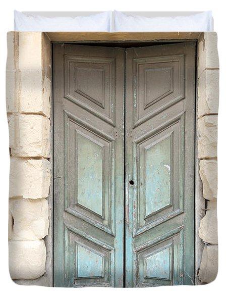 Doors Of The World 87 Duvet Cover