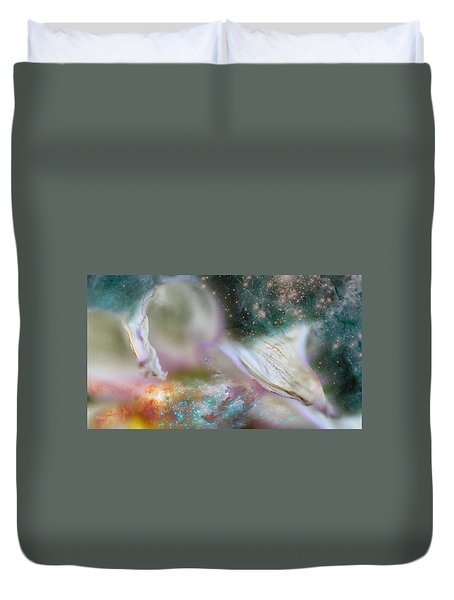 Dragon At The Ego Gate Duvet Cover