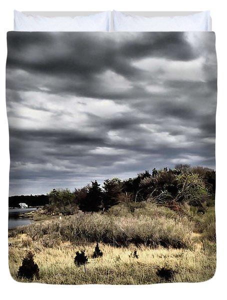 Dramatic Landscape At Elizabeth Morton Duvet Cover