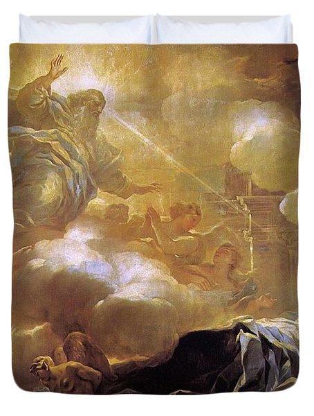 Dream Of Solomon Duvet Cover
