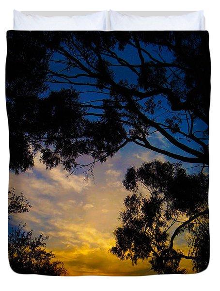 Dream Sunrise Duvet Cover by Mark Blauhoefer