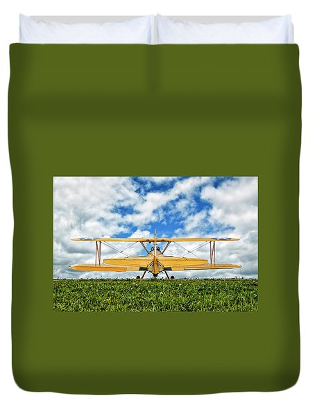 Dreaming Of Flight Duvet Cover