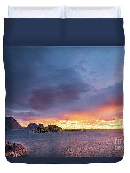 Dreamy Sunset Duvet Cover