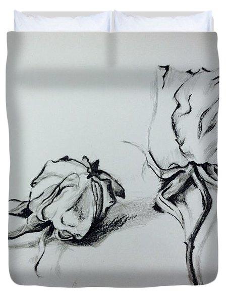 Dried Love Duvet Cover