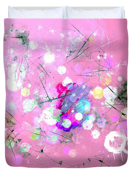 Drizzle  Duvet Cover by Don Wright