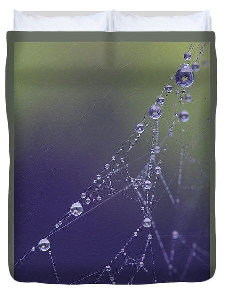 Droplets Duvet Cover