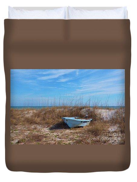 Dry Docked Duvet Cover by Bob Sample