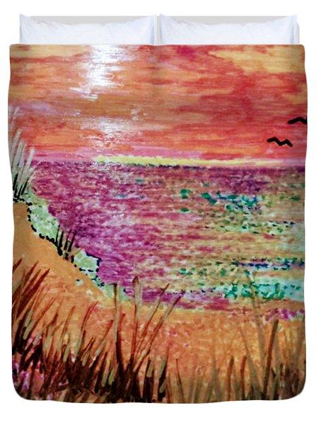 Dune Dreaming Duvet Cover