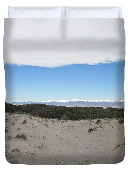 Dune In Roquetas De Mar Duvet Cover