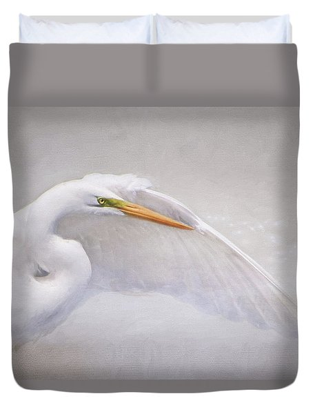 Earth Angel Duvet Cover