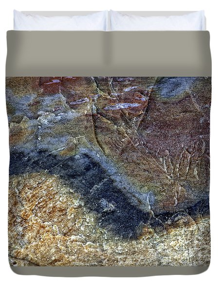 Earth Portrait 000-205 Duvet Cover