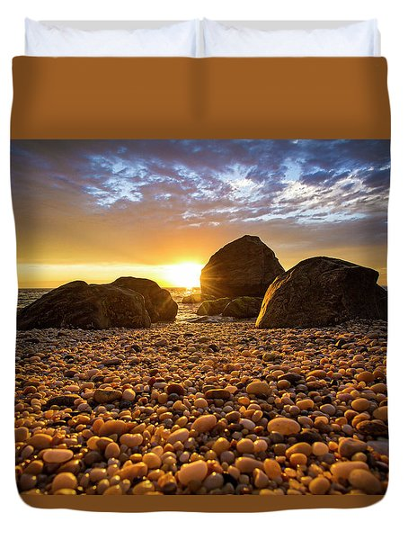 East Marion Sunset Duvet Cover