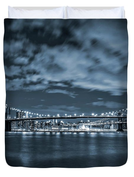 East River View Duvet Cover