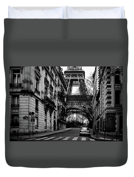 Only In Paris Duvet Cover