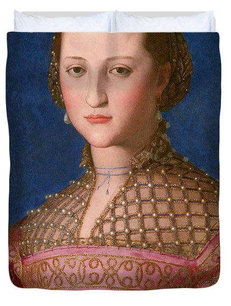 Eleonora Of Toledo Duvet Cover