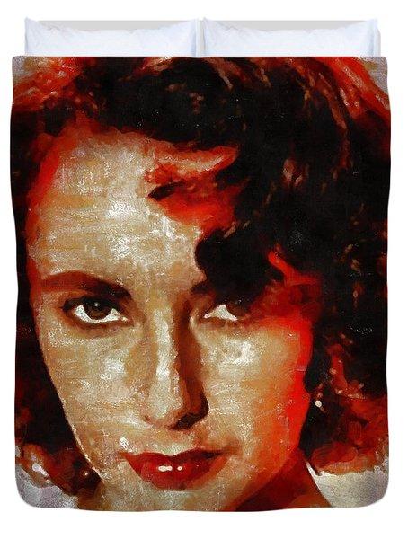 Elizabeth Taylor Duvet Cover