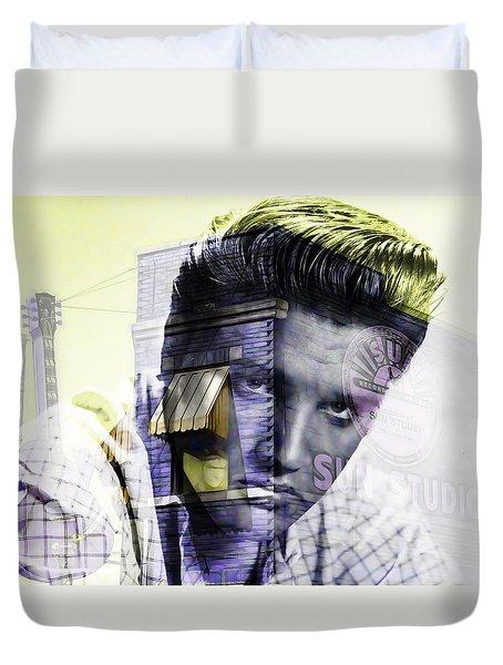 Elvis Presley Sun Studio Collection Duvet Cover