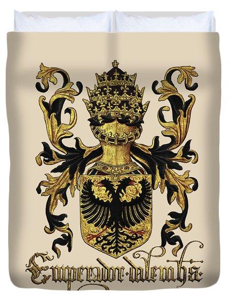 Emperor Of Germany Coat Of Arms - Livro Do Armeiro-mor Duvet Cover