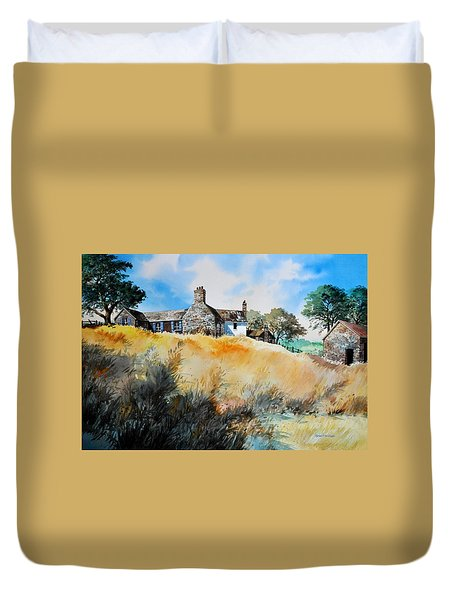 English Farmhouse Duvet Cover