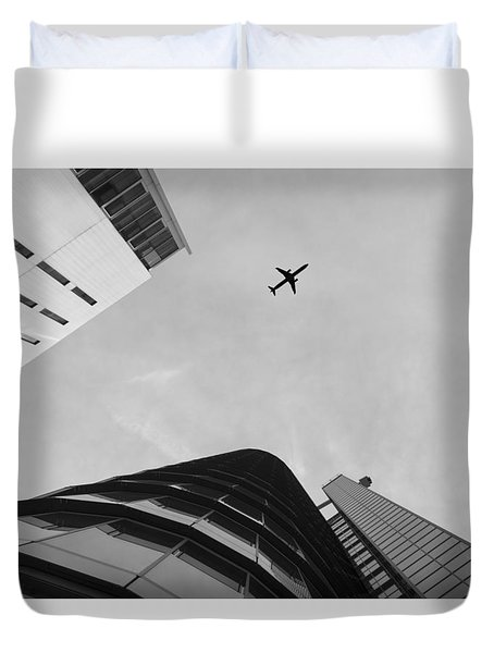 Enjoyable Flight Duvet Cover