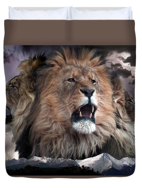 Enough Duvet Cover by Bill Stephens