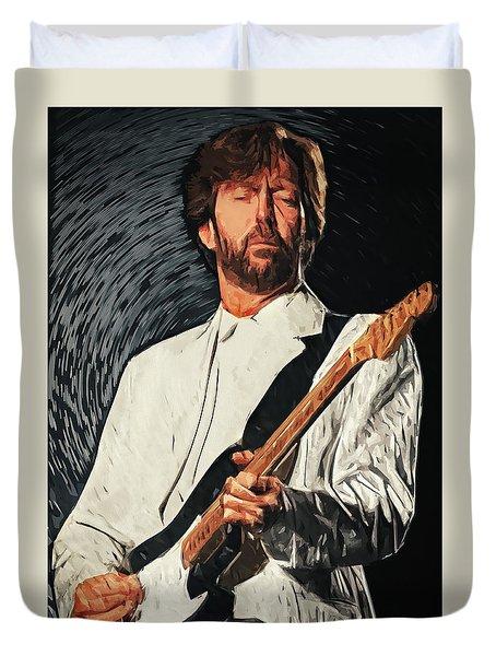 Eric Clapton Duvet Cover