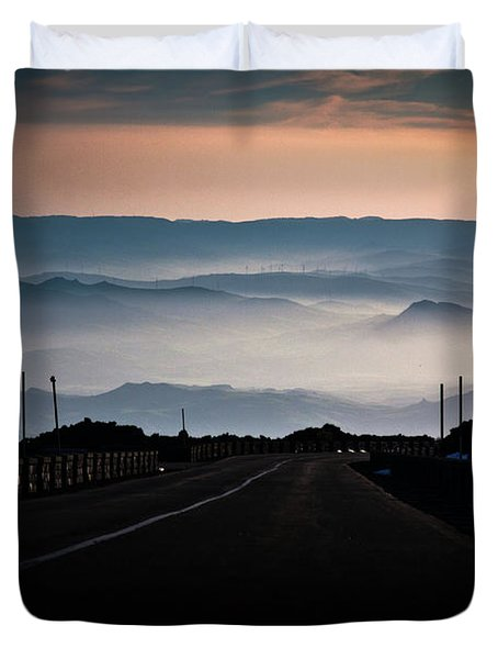 Etna Road Duvet Cover