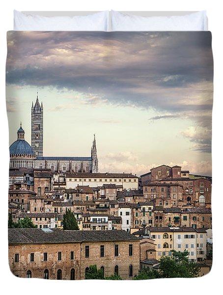 Evening Adagio Duvet Cover