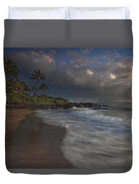 Evening Falls Duvet Cover