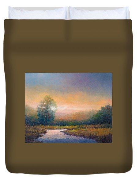 Evening Light Duvet Cover