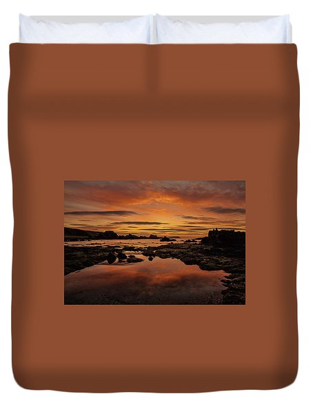 Evenings End Duvet Cover by Roy McPeak