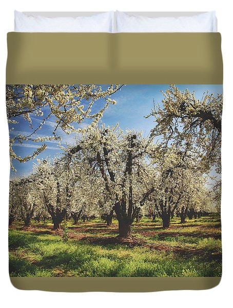 Duvet Cover featuring the photograph Everything Is New Again by Laurie Search