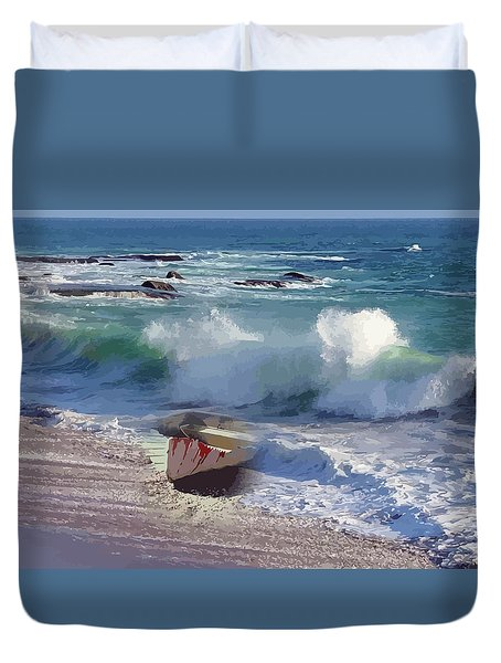 Everything Returns To It's Source Duvet Cover