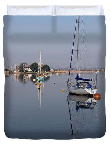 Exe Estuary Duvet Cover