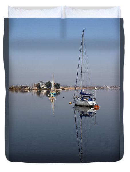 Exe Estuary Duvet Cover