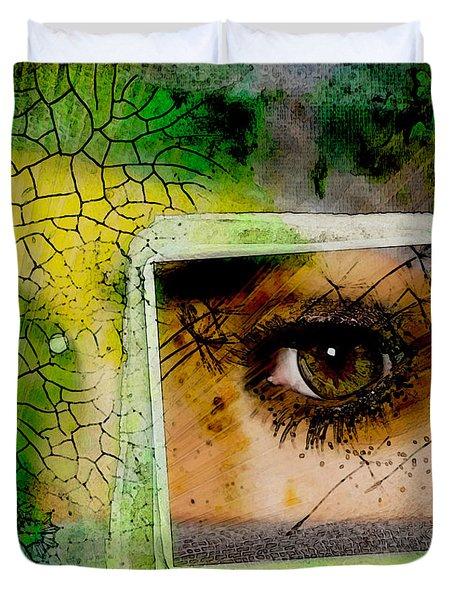 Eye, Me, Mine Duvet Cover