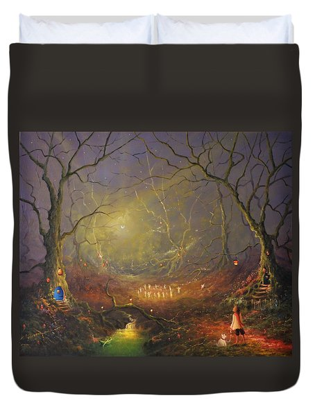 The Enchanted Forest Duvet Cover