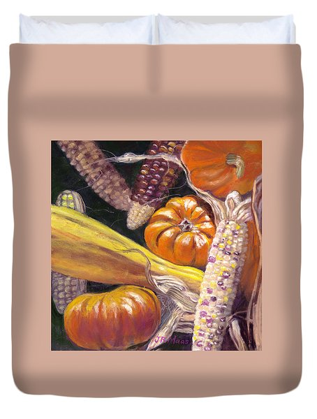Fall Harvest Duvet Cover