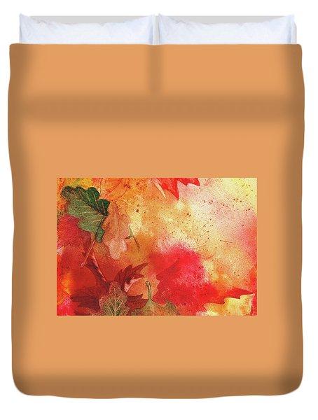 Fall Impressions Duvet Cover