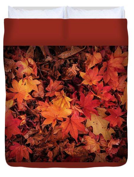 Fall Mosaic Duvet Cover