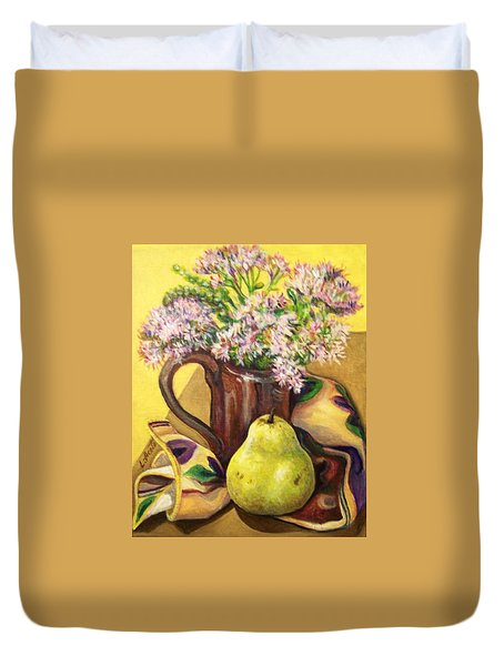 Fall Still Life Duvet Cover