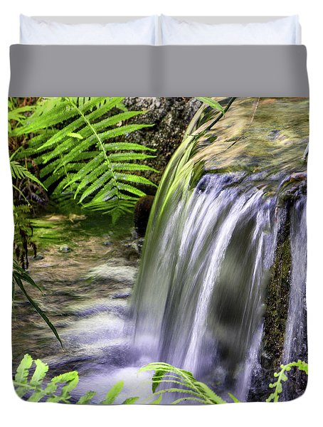 Falling Water Duvet Cover