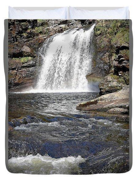 Falls Of Falloch Duvet Cover