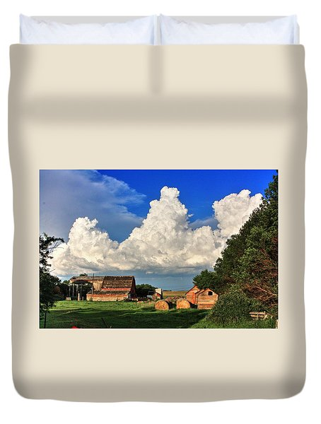 Farm Yard Duvet Cover