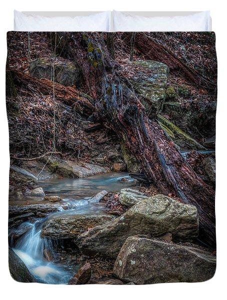 Feeder Creek Duvet Cover