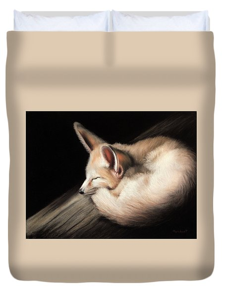 Fennec Fox Duvet Cover