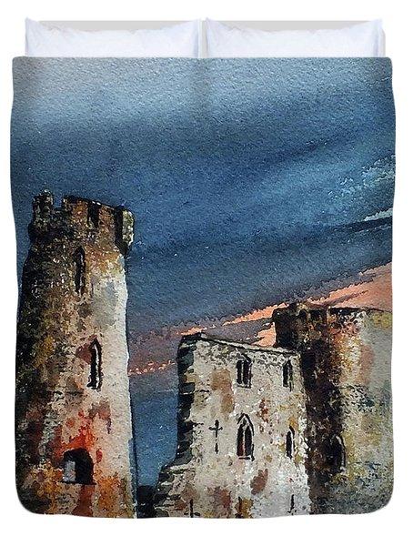 Ferns Castle, Wexford Duvet Cover
