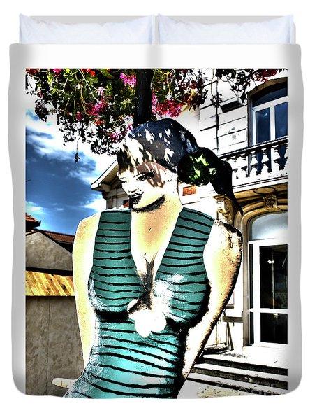 Fete-soulac-1900_32 Duvet Cover